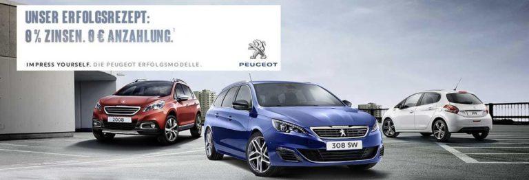 Peugeot 2008 Barkauf Angebot