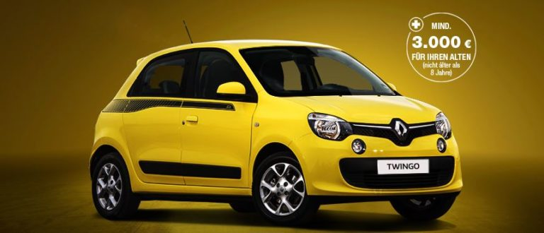 Renault Twingo Experience Leasing 29,-€