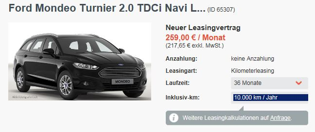 g nstiges leasing angebot f r den ford mondeo turnier. Black Bedroom Furniture Sets. Home Design Ideas