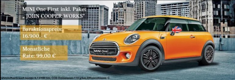 Mini_One_John_Cooper_Works_Aktionspreis