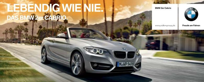 bmw 2er cabrio leasing f r privat 299 pro monat. Black Bedroom Furniture Sets. Home Design Ideas