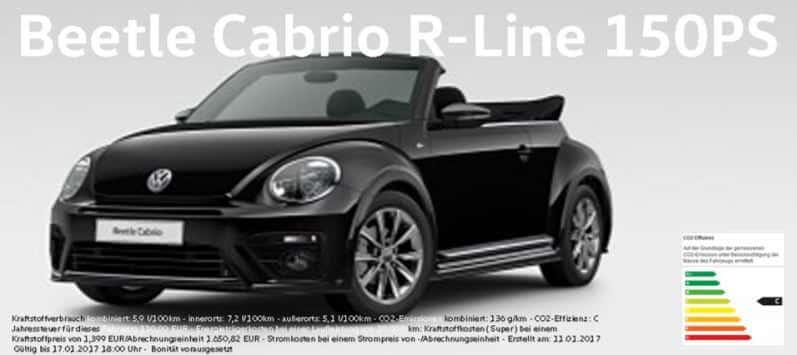 vw beetle cabrio leasing f r privat und gewerbe. Black Bedroom Furniture Sets. Home Design Ideas