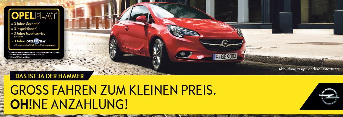opel corsa leasing f r privat ab 69 im monat leasing. Black Bedroom Furniture Sets. Home Design Ideas