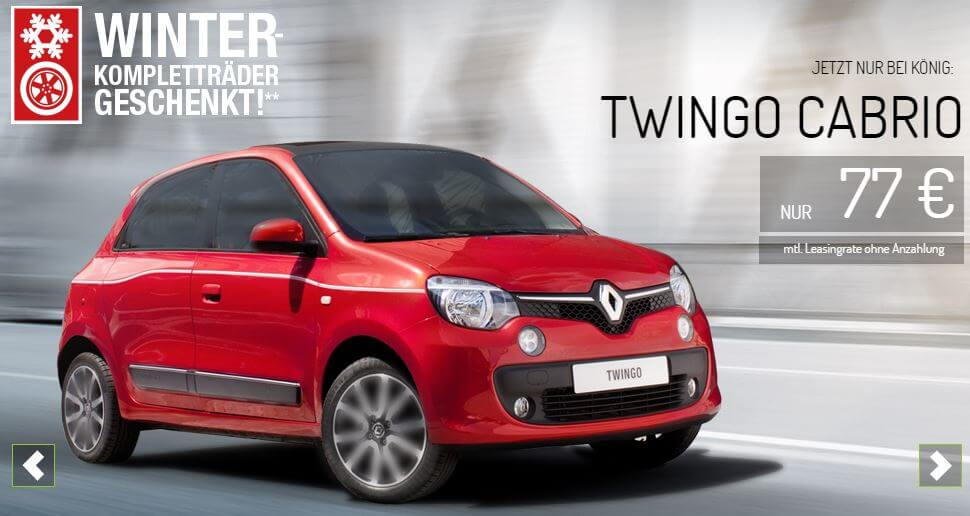renault twingo liberty leasing f r 77 im monat. Black Bedroom Furniture Sets. Home Design Ideas