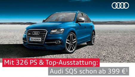 audi sq5 altes modell gewerbeleasing f r 399 netto. Black Bedroom Furniture Sets. Home Design Ideas