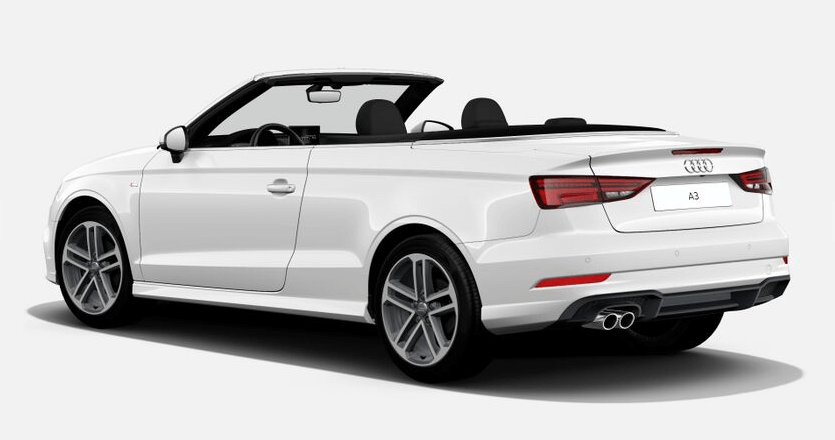 audi a3 cabrio leasing f r 221 euro im monat brutto. Black Bedroom Furniture Sets. Home Design Ideas