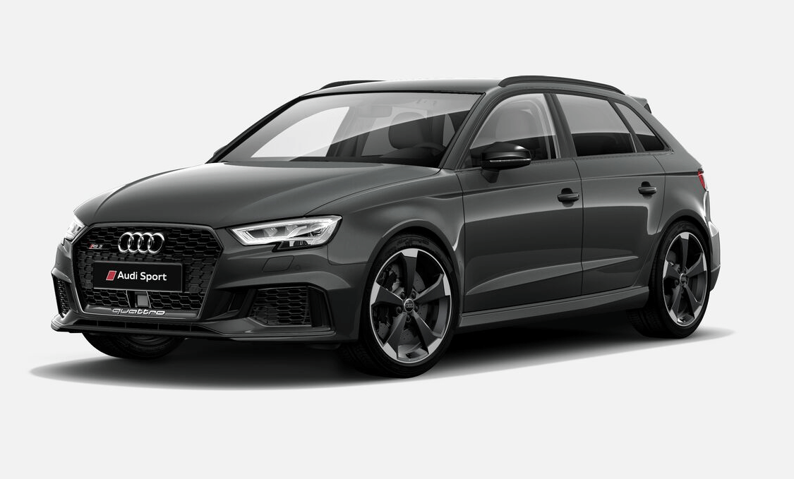 audi rs3 sportback leasing f r 594 euro im monat brutto. Black Bedroom Furniture Sets. Home Design Ideas