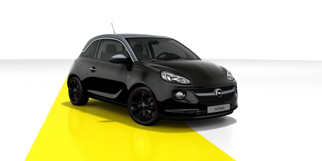 opel adam leasing f r 109 euro im monat brutto. Black Bedroom Furniture Sets. Home Design Ideas