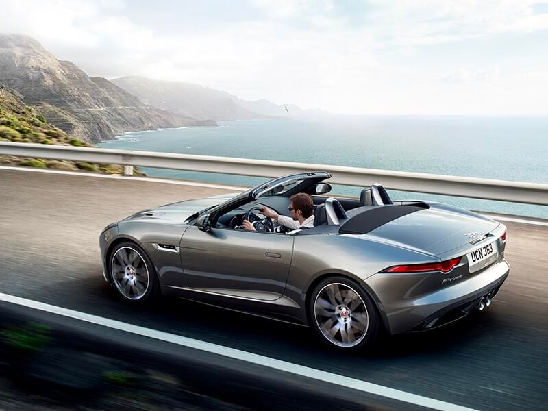 jaguar f type cabriolet leasing f r 499 euro im monat. Black Bedroom Furniture Sets. Home Design Ideas