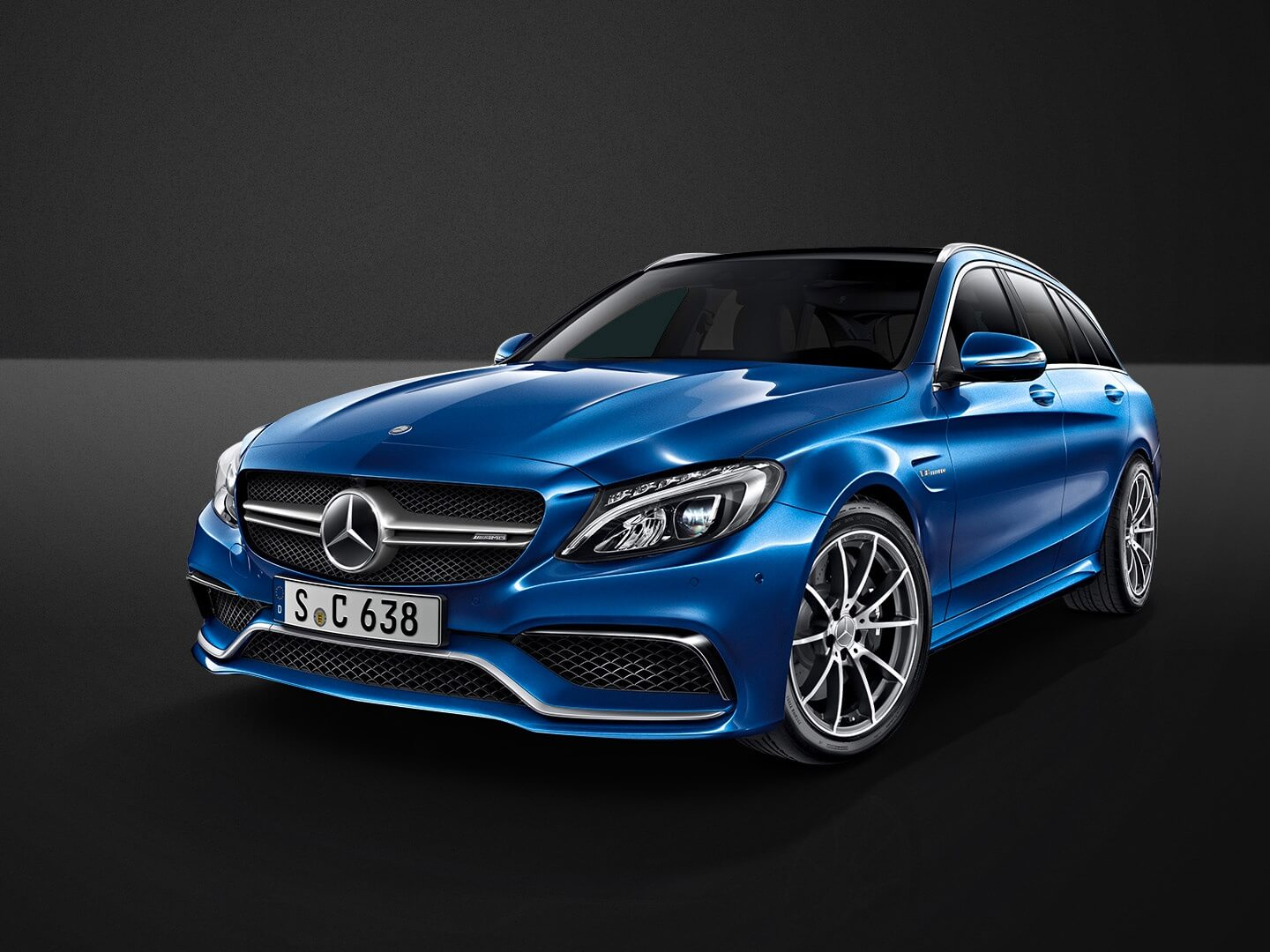 mercedes benz c63 amg t modell leasing f r 688 euro im. Black Bedroom Furniture Sets. Home Design Ideas