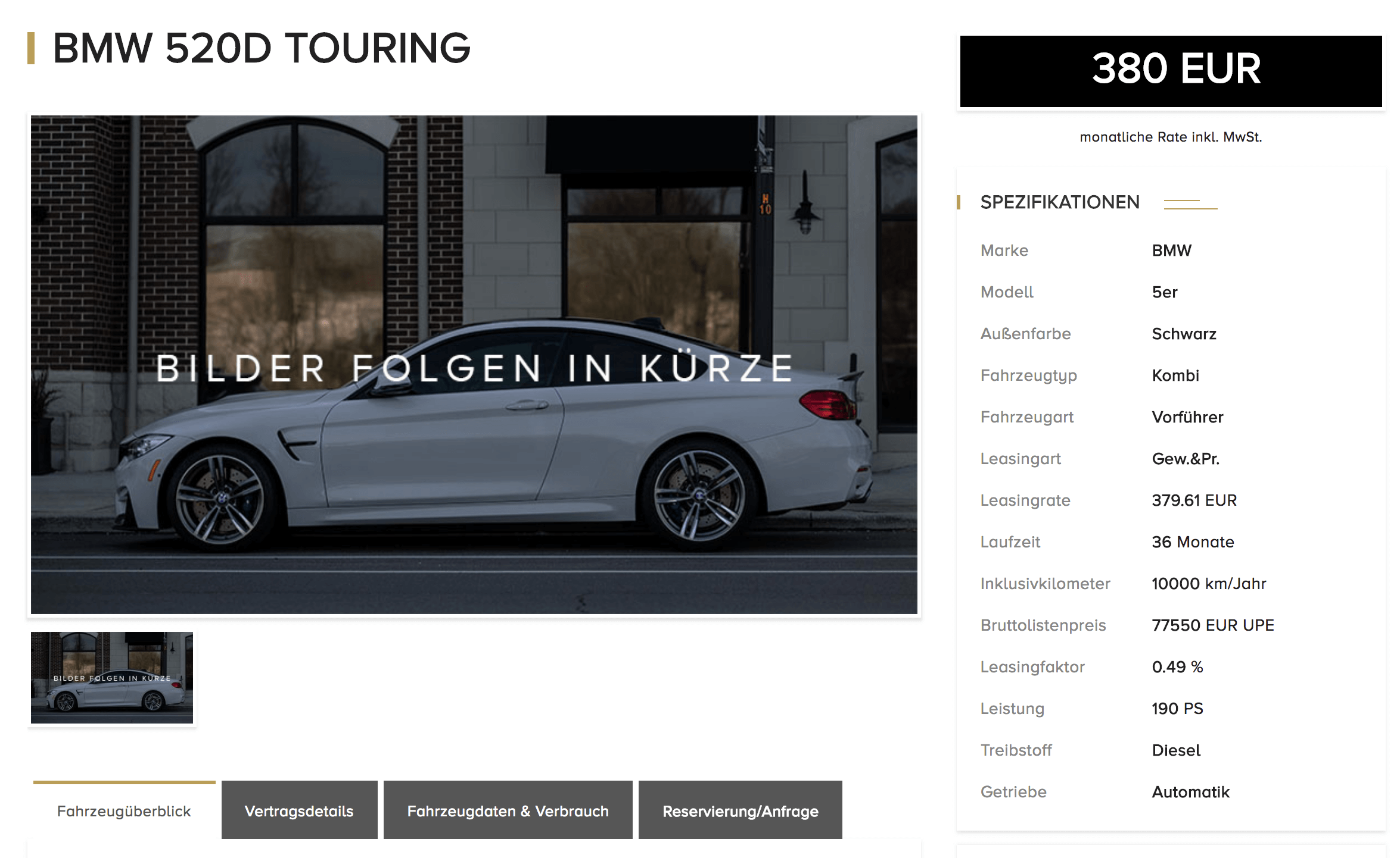 erneute bmw 5er aktion bei luxuryleasing junge gebrauchte. Black Bedroom Furniture Sets. Home Design Ideas