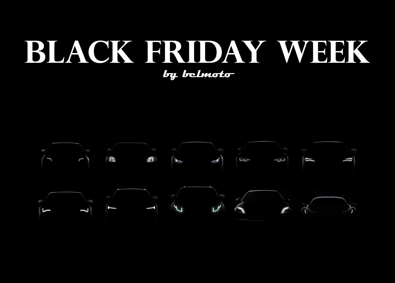 Black Friday Week jetzt bei belmoto