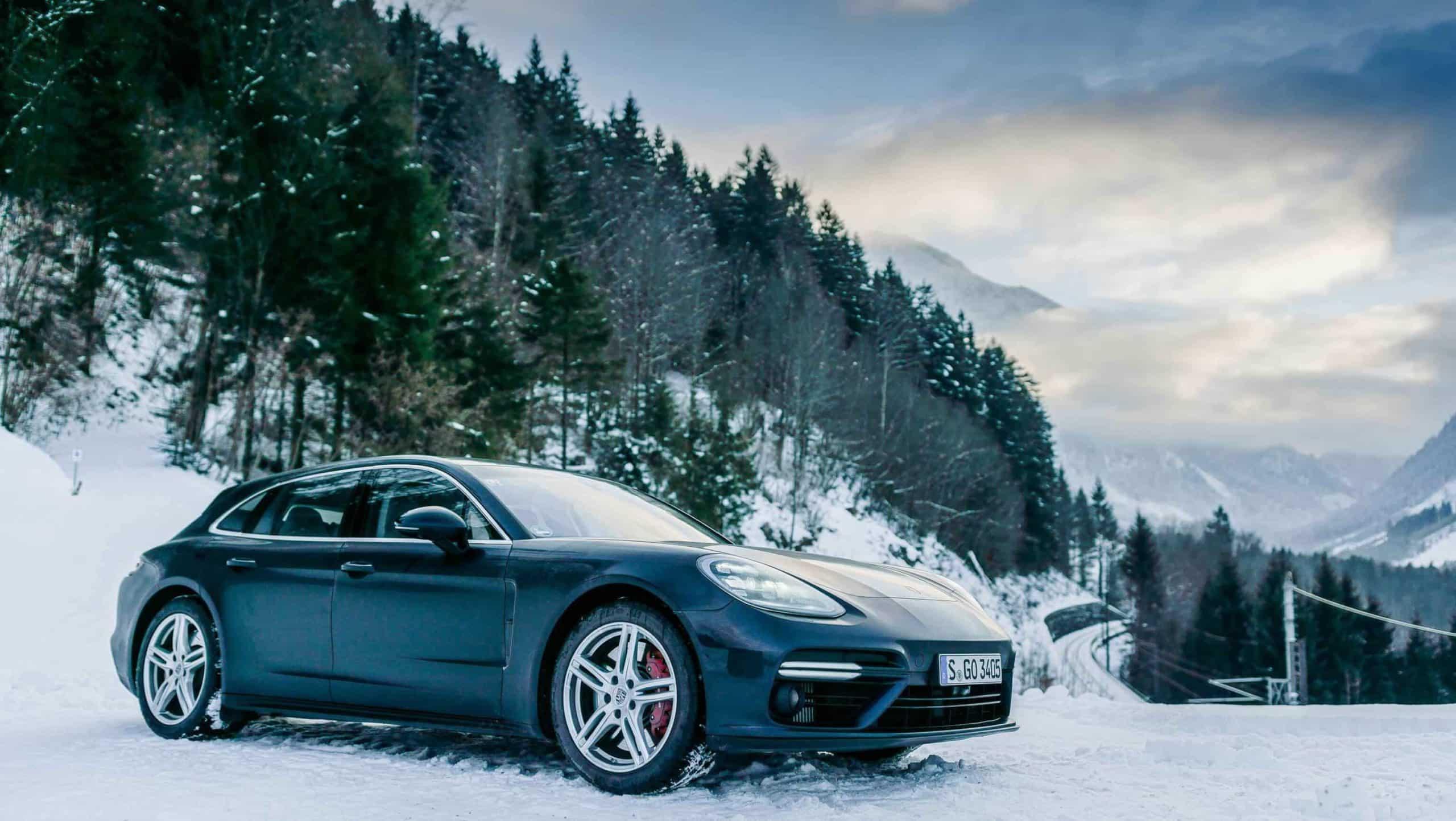 Porsche Panamera Turbo V8