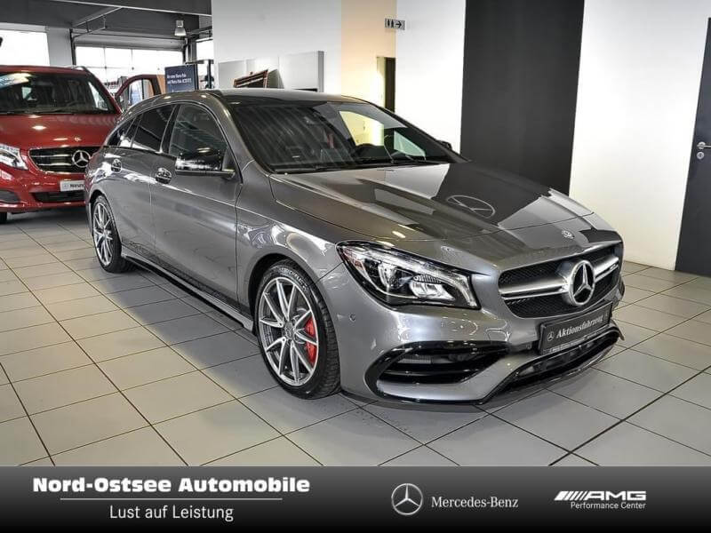 mercedes benz cla 45 amg 4matic leasing f r 594 euro im. Black Bedroom Furniture Sets. Home Design Ideas