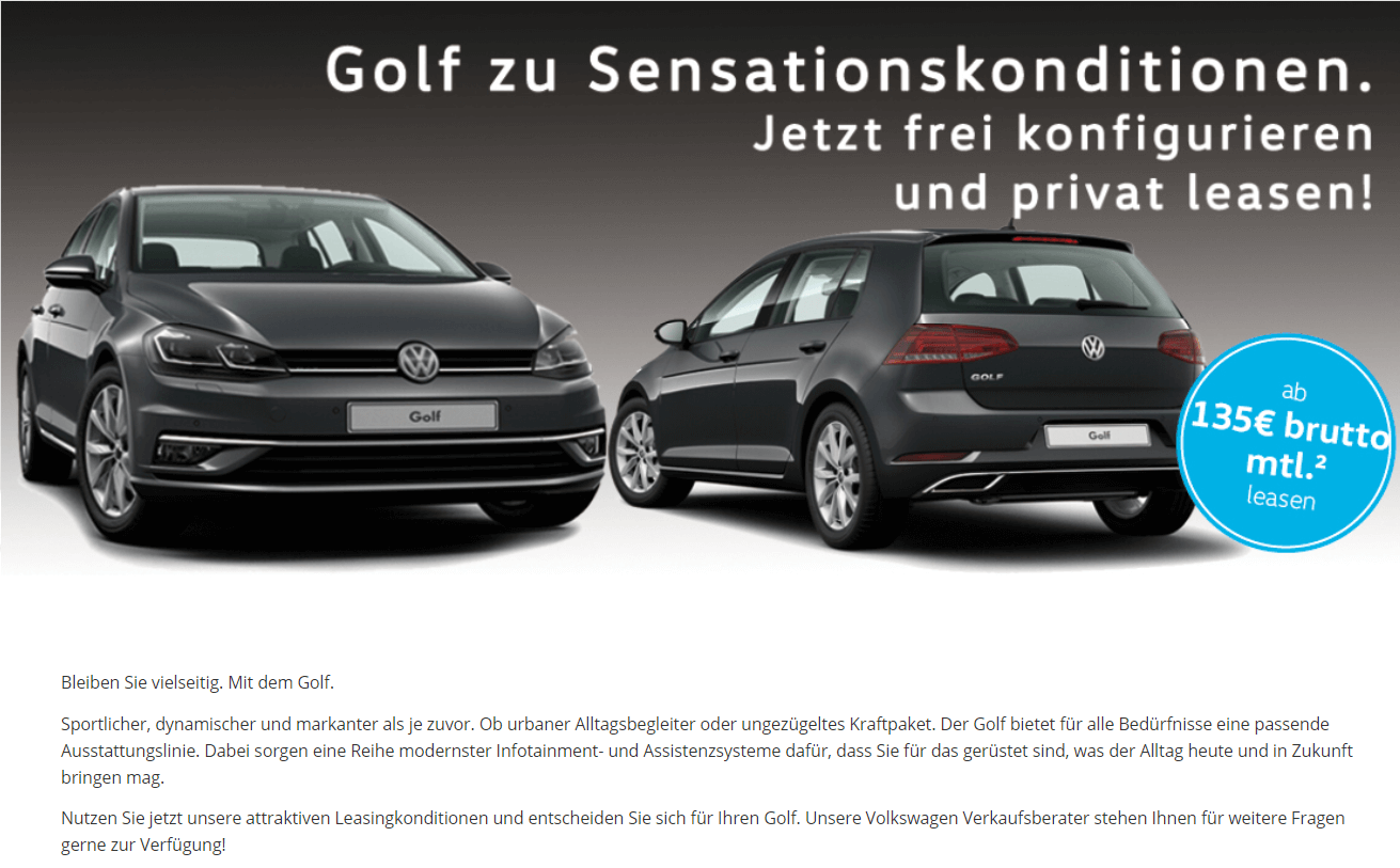 vw golf sensationsangebote bei pl tz inzahlungnahme. Black Bedroom Furniture Sets. Home Design Ideas