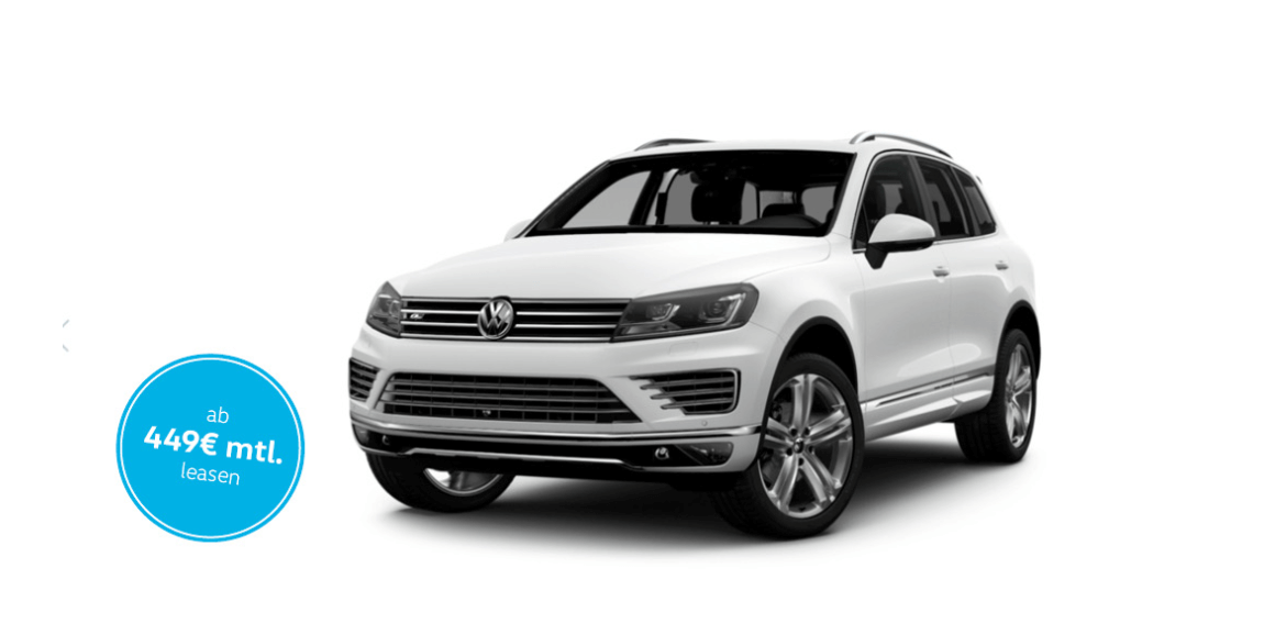 vw touareg 4 motion tdi 150 r line leasing f r 449 euro. Black Bedroom Furniture Sets. Home Design Ideas