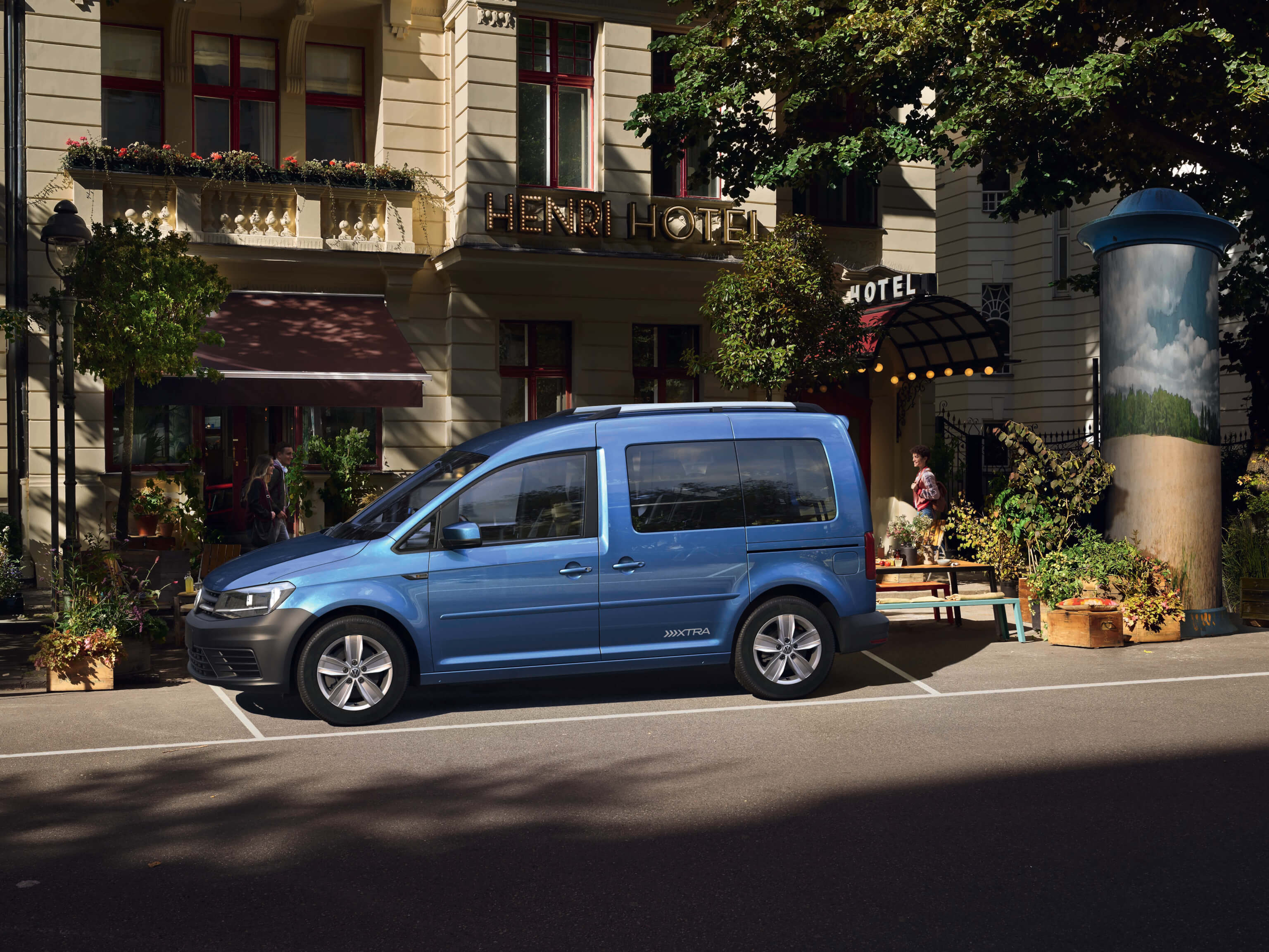 VW Caddy Trendline 5-Sitzer 1,0 l TSI BlueMotion Technology