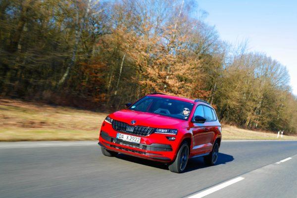HOT! Škoda Karoq Leasing für 77 (119) Euro im Monat netto [Vorlauffahrzeug]