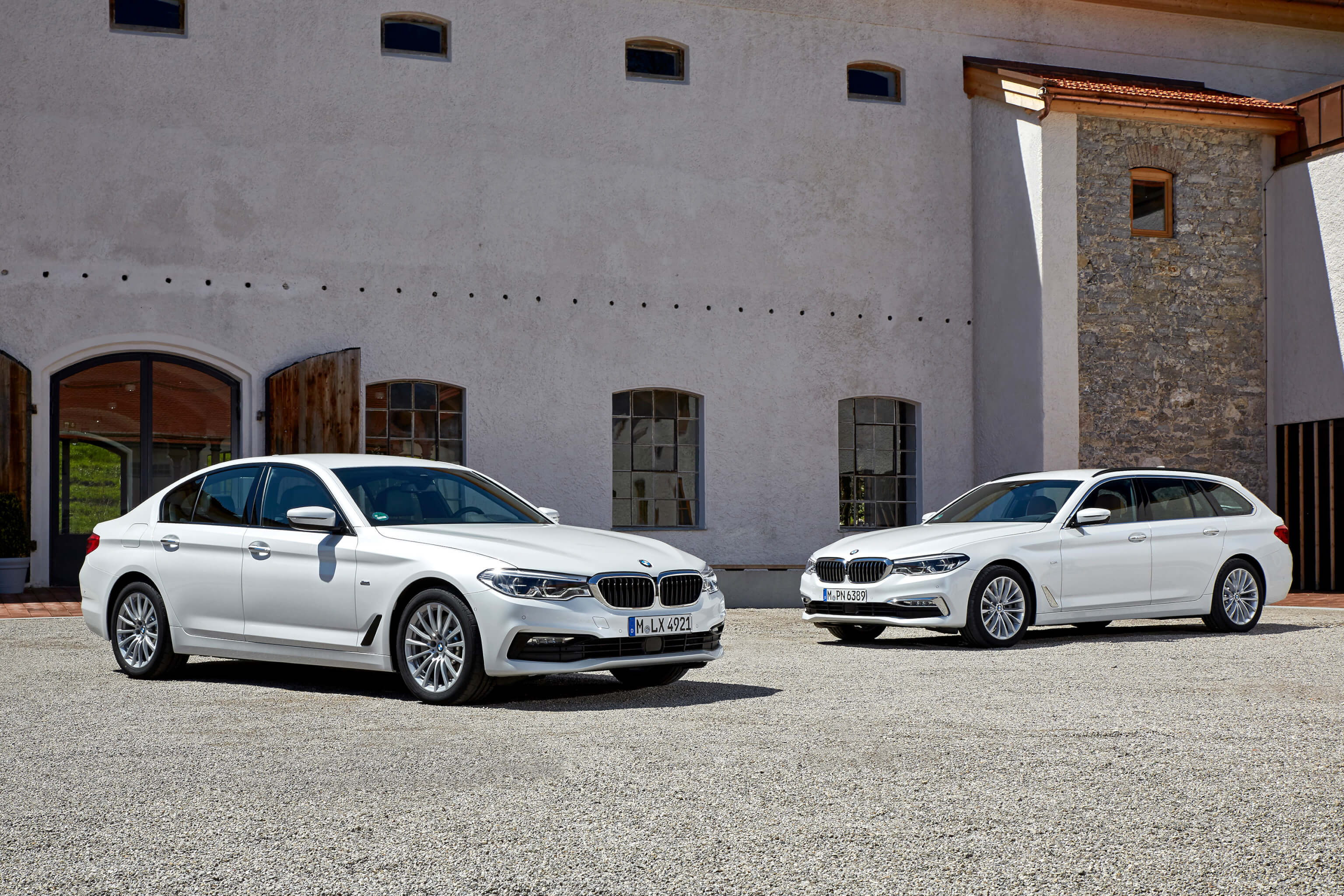 BMW 5er Limousine und Touring xDrive Steptronic