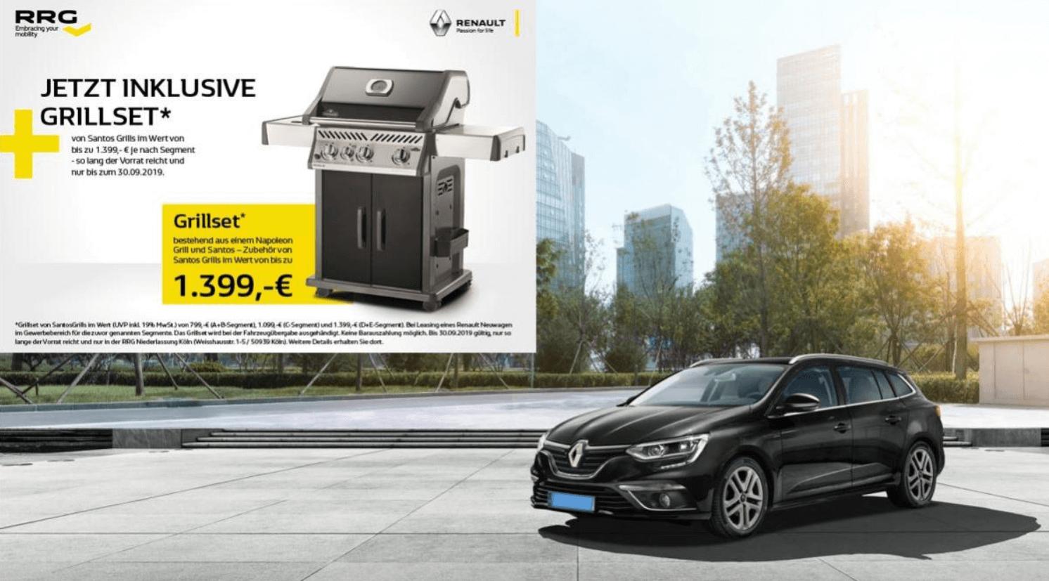 Renault Megane Grandtour Business Edition Grillaktion
