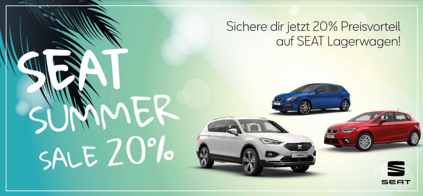 Seat Summer Sale