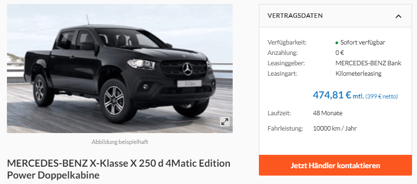 Mercedes-Benz X-Klasse X 250 d 4Matic Power Edition Doppelkabine