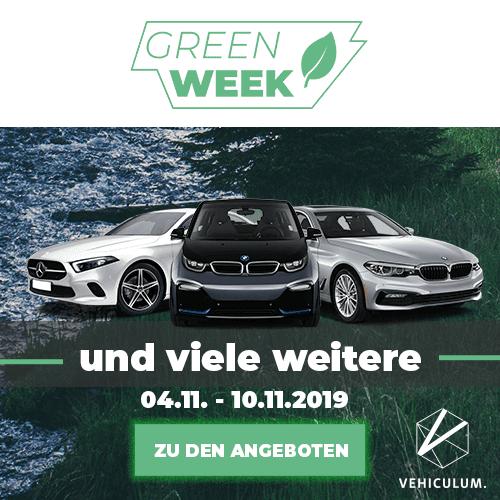 Green Week bei Vehiculum