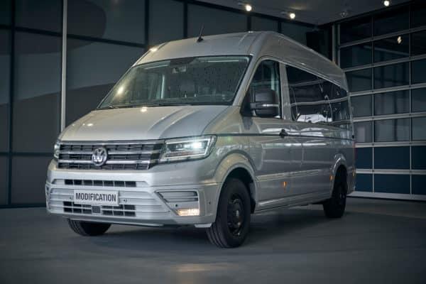 HOT! Volkswagen e-Crafter Leasing für 349 (488) Euro im Monat netto [Lagerwagen, BAFA]
