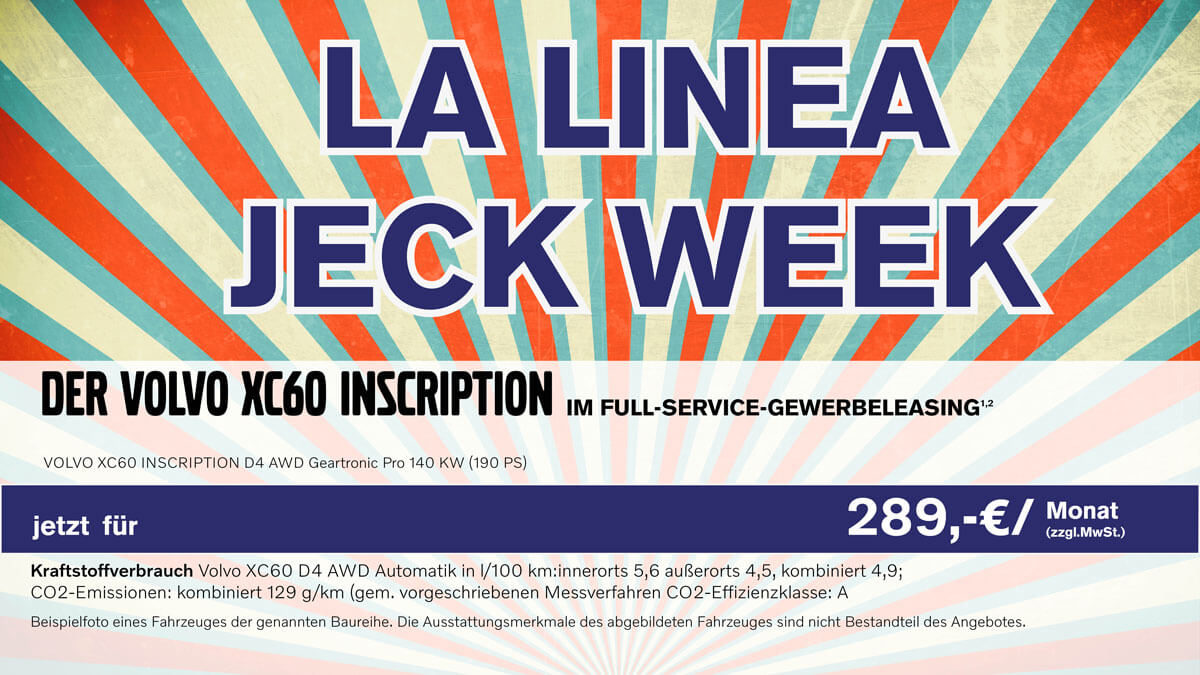 Jeck Week by LaLinea