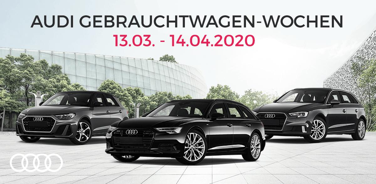 Audi-Gebrauchtwagen-Wochen 2020