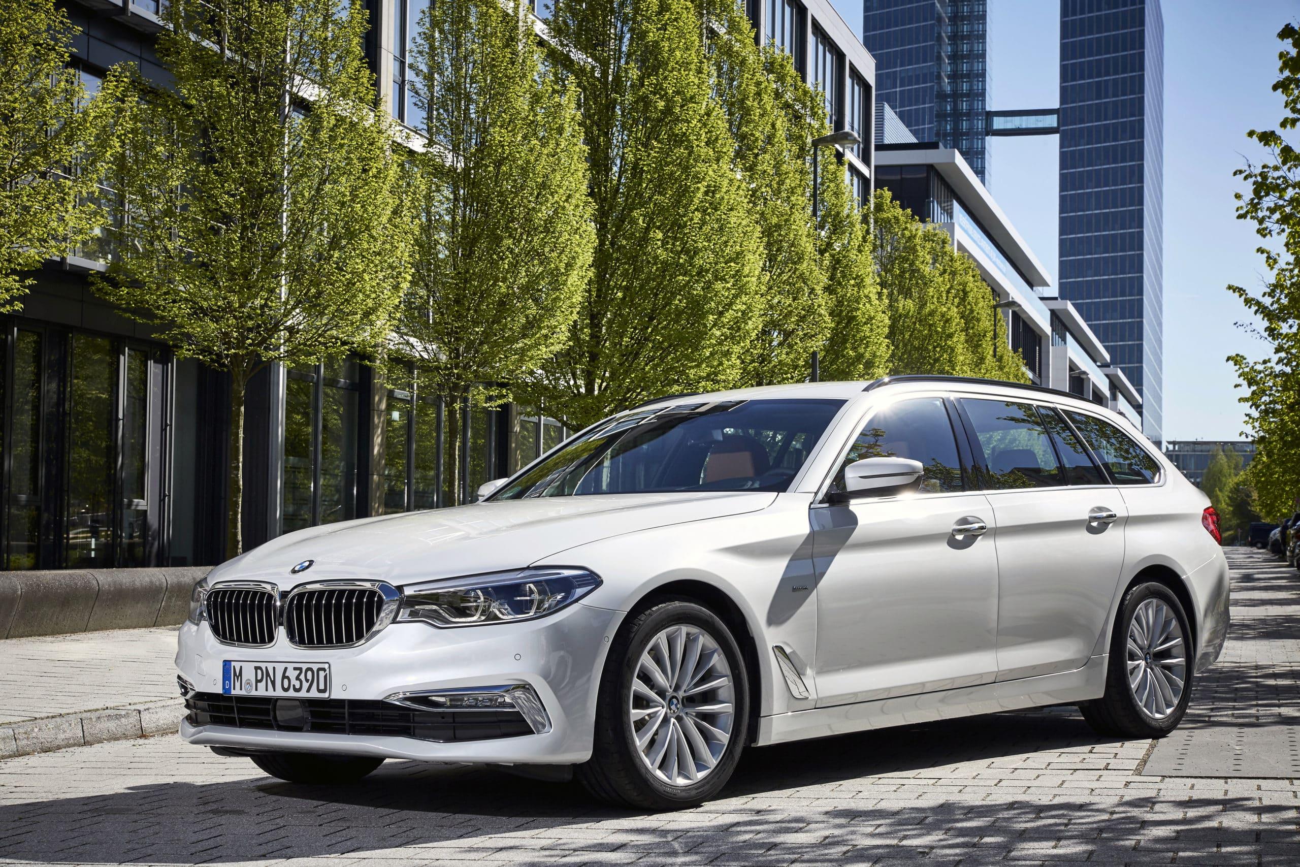 BMW 520 Touring Pressefoto