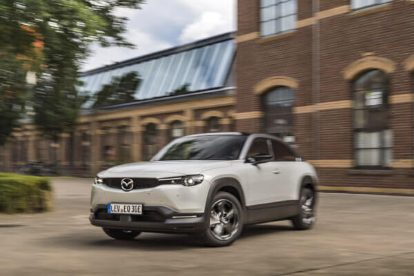 HOT! Mazda MX-30 Leasing für 82 (332) Euro im Monat netto [Bestellfahrzeug, BAFA]