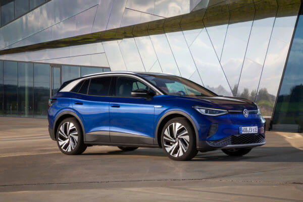 GRANATE! Volkswagen ID.4 Leasing für 224 (349) Euro im Monat brutto [Bestellfahrzeug, BAFA, ID-Charger geschenkt]